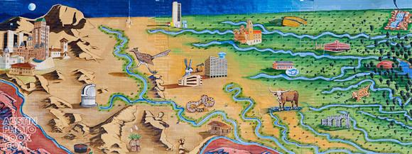 Austintatious Mural - Drag Guadalupe UT