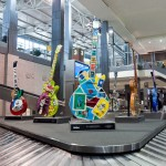 Austin Airport Art guitars - Baggage Claim 3