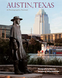 Austin Texas Photo coffee table book cover copy About the Book