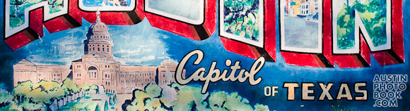 austin mural closeup postcard view