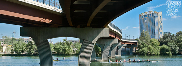 Pfluger Pedestrian Bridge - Monarch Condo - Towne Lake - Austin, TX